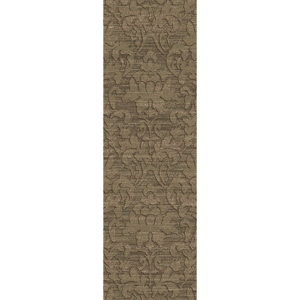 Hand-Knotted Sheryl Abstract Pattern Jute Area Rug