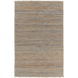 Hand-Woven Aileen Stripe Jute Rug (5' x 7'6)