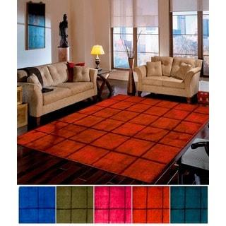 Hand-Loomed Gustavo Geometric Wool Rug (3'3 x 5'3)