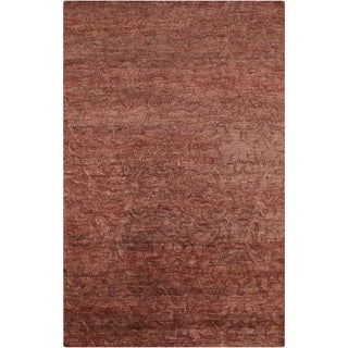 Hand-Knotted Sheryl Abstract Pattern Jute Rug (8' x 11')