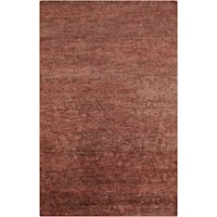 Hand-Knotted Sheryl Abstract Pattern Jute Area Rug - 8' x 11'