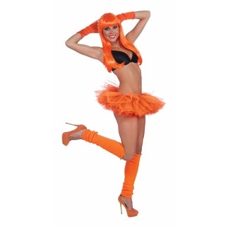 Adult Orange Ballerina Tutu Costume Accessory