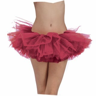 Adult Burgundy Ballerina Tutu Costume Accessory