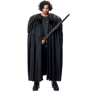 Medieval Faux Fur Cape Costume Accessory