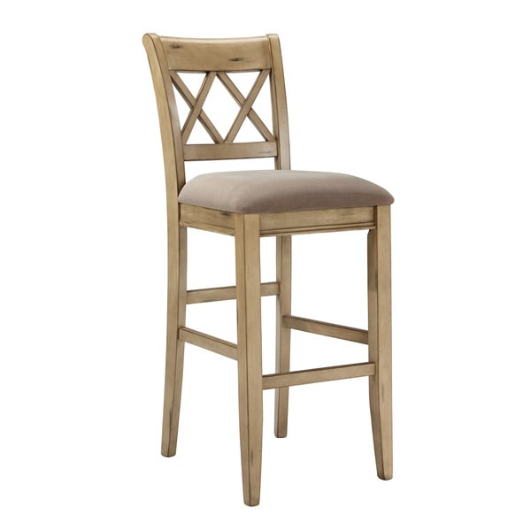Signature Design by Ashley Mestler 30 inch Upholstered  : Signature Design by Ashley Mestler 30 inch Upholstered Antique White Bar Stool Set of 2 a919e6bc 124d 497c afcb 23c1d37d662a600 from www.overstock.com size 600 x 600 jpeg 19kB