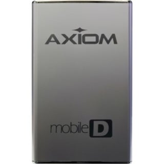 "Axiom Mobile-D 1 TB Hard Drive - SATA - 2.5"" Drive - External"