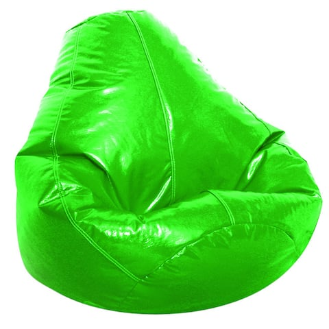 Jordan Manufacturing Adult Wetlook Collection Vinyl Bean Bag Chair