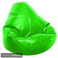 Jordan Manufacturing Adult Wetlook Collection Vinyl Bean Bag Chair