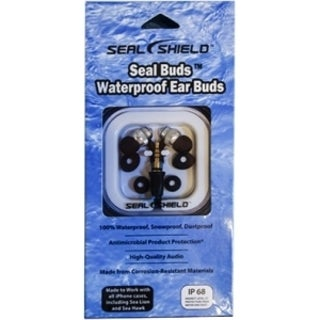 Seal Shield Seal Buds Headphones w/o Microphone