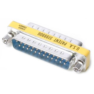 StarTech.com DB25 Slimline Gender Changer M/M - Cable Adapter