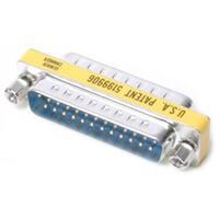 StarTech.com DB25 Slimline Gender Changer M/M - Cable Adapter