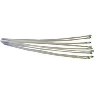 StarTech.com 8in Screw Mount Cable Ties 100 Pack