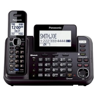 Panasonic KX-TG9541B DECT 6.0 1.90 GHz Cordless Phone - Black