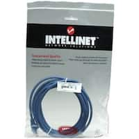 Intellinet Network Solutions Cat6 UTP Network Patch Cable, 5 ft (1.5
