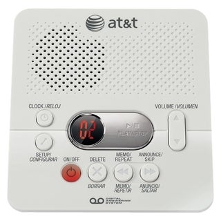 AT&T 60 Min Record Time Digital Answering System