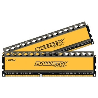 Crucial 16GB Kit (8GBx2), Ballistix 240-pin DIMM, DDR3 PC3-14900 Memo