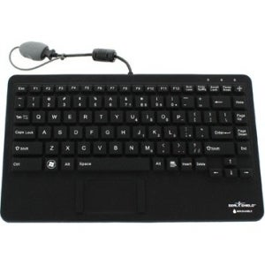 """Seal Shield Seal Pup Silicone """"All-in-One"""" Keyboard"""