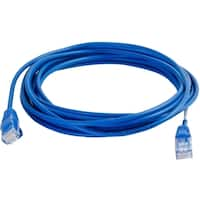 C2G 13ft Cat5e Snagless Unshielded (UTP) Slim Network Patch Cable - B