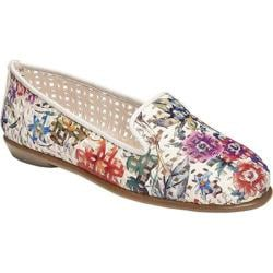 Women's Aerosoles You Betcha Slip-On White Floral Leather