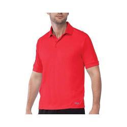 Men's Fila Bravo Polo Shirt Chinese Red