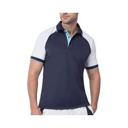 Men's Fila Reflex Polo Peacoat/White/River Blue