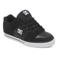 Men's DC Shoes Pure Black/Black/White