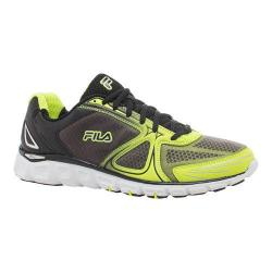 Men's Fila Memory Solidarity Running Shoe Safety Yellow/Black/White