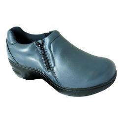 Women's Genuine Grip Footwear Slip-Resistant Slip-on Zipper Pewter