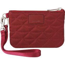 Women's Pacsafe RFIDsafe W50 Cranberry
