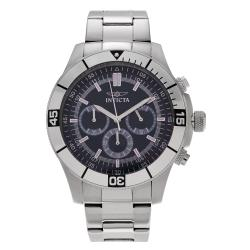 Invicta Men's Specialty 12840 Stainless Steel Blue Dial Chronograph Bracelet Watch