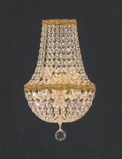 Crystal Empire Wall Sconce Gold