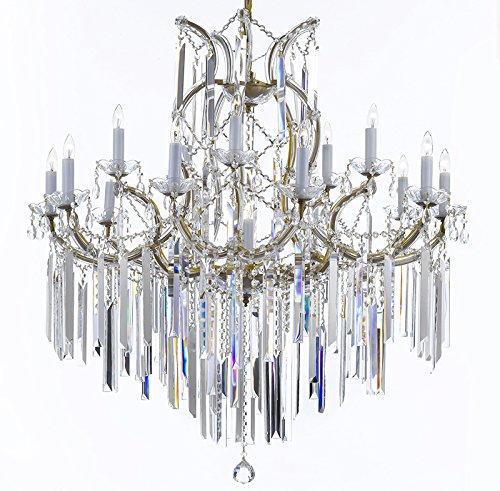 Maria Theresa Chandelier Lighting Empress Crystal Lighting Chandelier Lighting With Optical Quality Fringe Prisms
