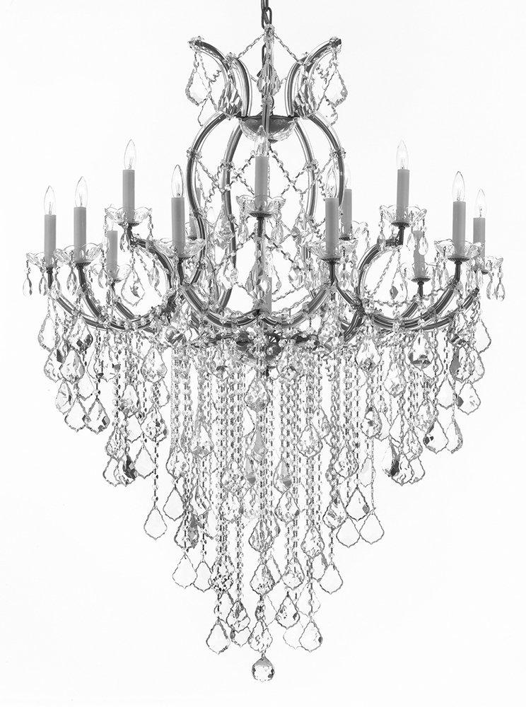 Maria Theresa Chandelier Lighting Empress Crystal Lighting Chandelier Lighting H50 x W37