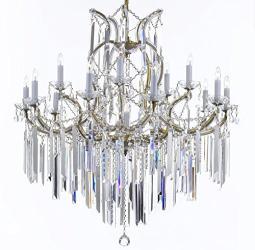 Maria Theresa Chandelier Lighting Empress Crystal Lighting Chandelier Lighting With Optical Quality Fringe Prisms - Thumbnail 0
