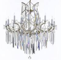 Maria Theresa Chandelier Lighting Empress Crystal Lighting Chandelier Lighting With Optical Quality Fringe Prisms
