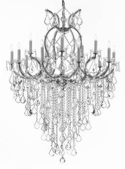Maria Theresa Chandelier Lighting Empress Crystal Lighting Chandelier Lighting H50 x W37 - Thumbnail 0