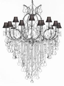 Maria Theresa Chandelier Lighting Empress Crystal H50 x W37