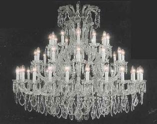 Crystal Chandelier Lighting H52 x W46