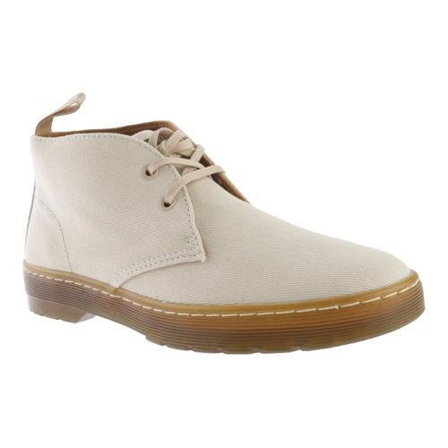 8f8ea2a135b Men's Dr. Martens Mayport 2-Eye Desert Boot Sand Overdyed Twill Canvas