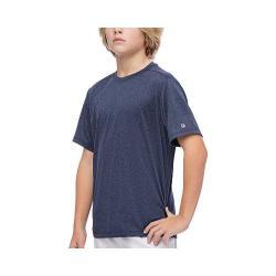 Men's Fila Fundamental Heather Crew T-Shirt Peacoat Heather