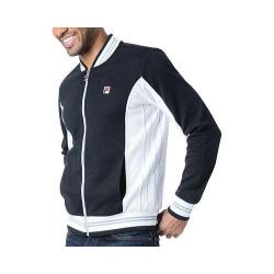 Men's Fila Settanta Jacket Black/White/Quarry