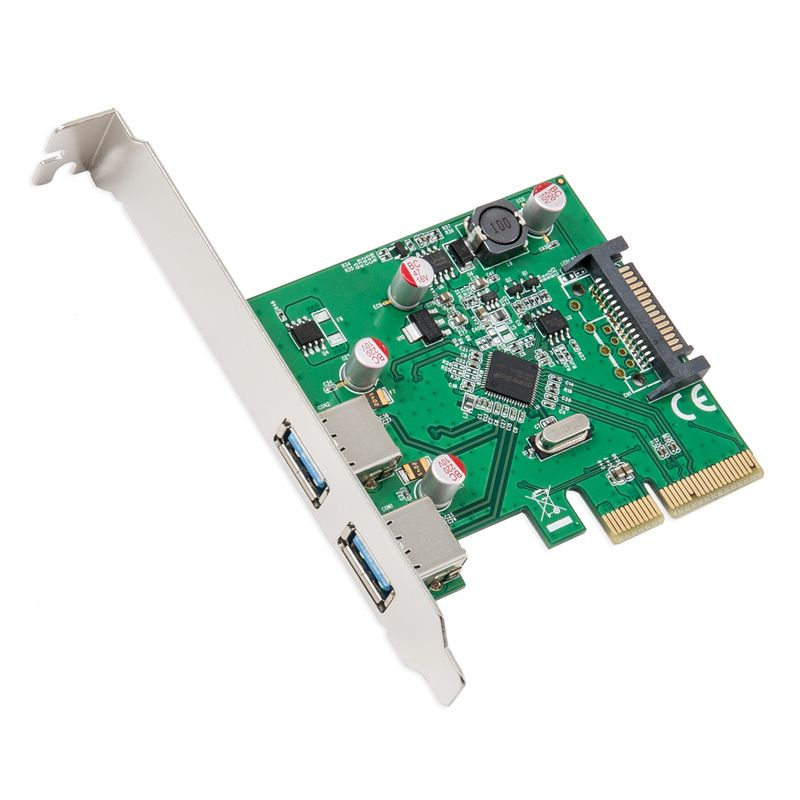 SYBA Multimedia USB 3.1 Type-A PCI-E 3.0 x4, 2 Port