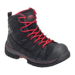Men's Avenger A7723 Steel Toe EH WP Boot Black Leather