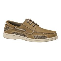Men's Dockers Waterview Lace Up Boat Light Tan Soft Genuine Leather