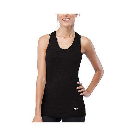 Women's Fila Sublime Seamless Singlet Black
