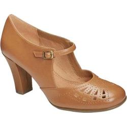 Women's Aerosoles Role Of Fate Mary Jane Tan Faux Leather