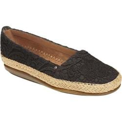 Women's Aerosoles Solitaire Black Two Tone Fabric