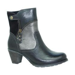 Women's Dromedaris Fabiana Boot Black Leather