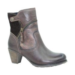 Women's Dromedaris Fabiana Boot Chocolate Leather
