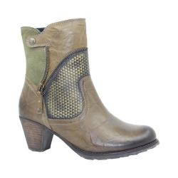 Women's Dromedaris Fabiana Boot Olive Leather